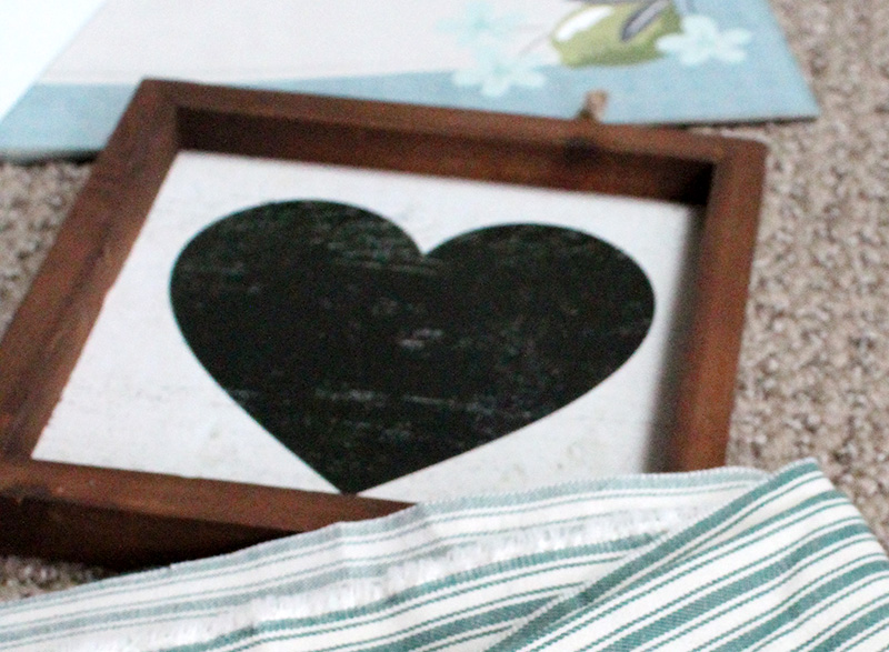 DIY heart picture