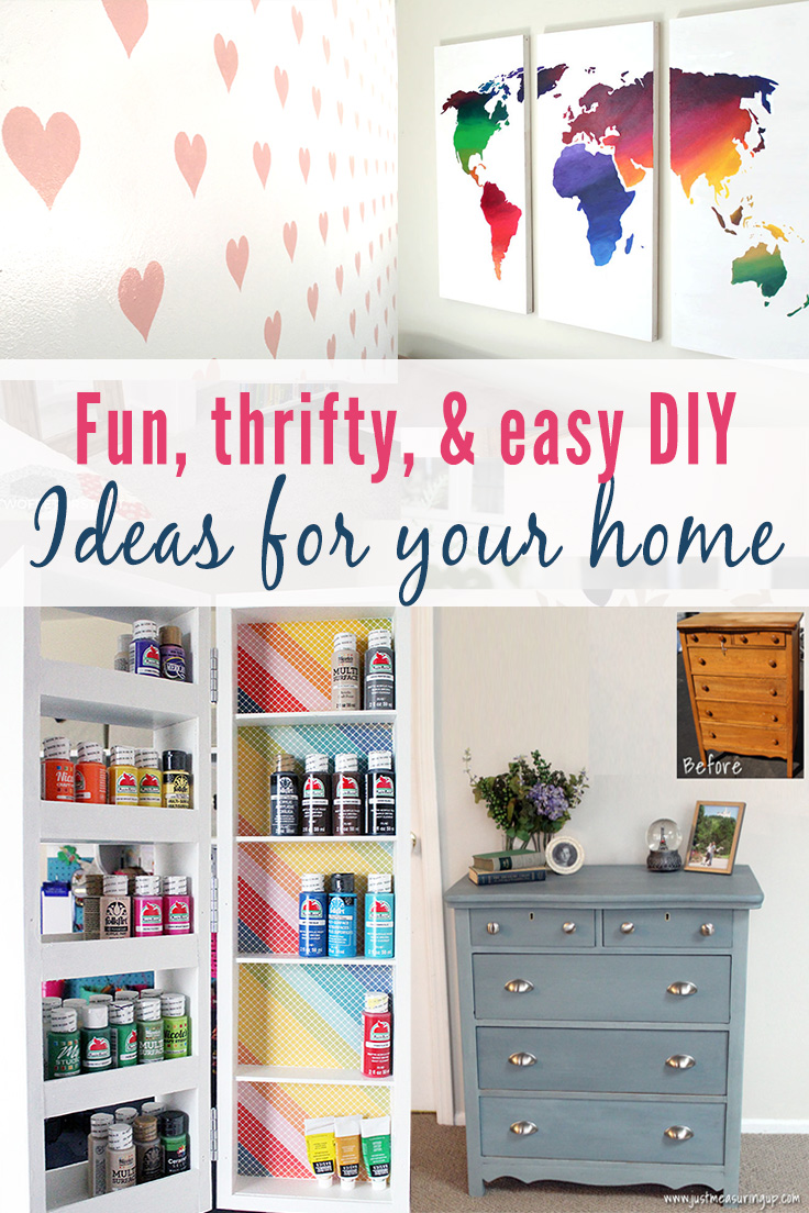 Easy Diy Room Decor Projects Home Decorating Ideas