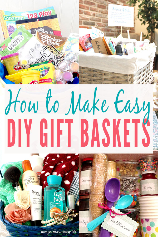 How To Make A Themed Gift Basket Creative Thoughtful Diy