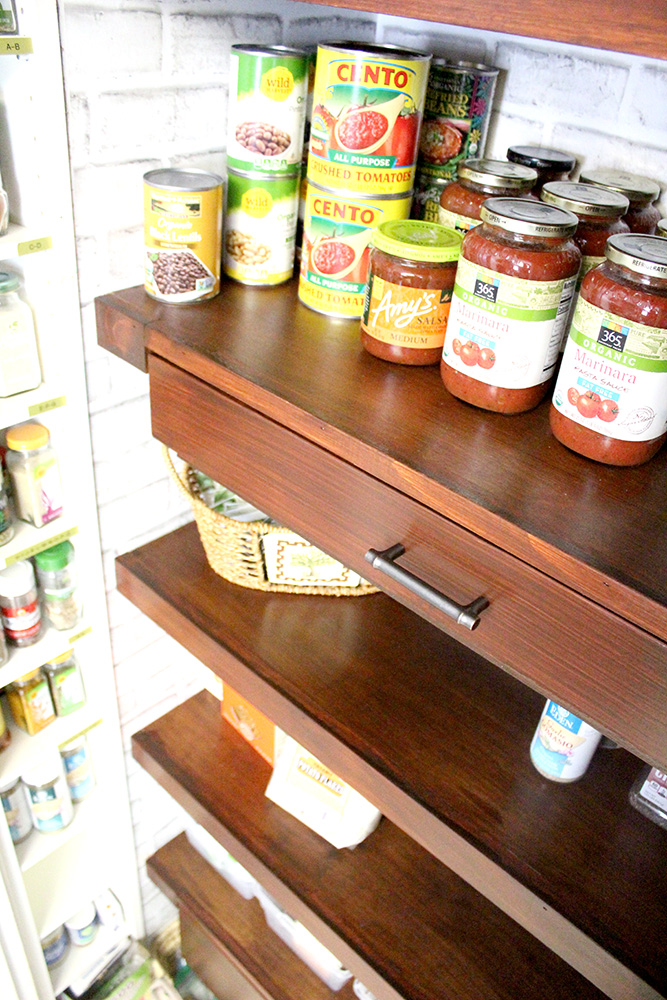 Fine Diy Built In Pantry Shelves With Pull Out Drawers Pantry Complete Home Design Collection Barbaintelli Responsecom