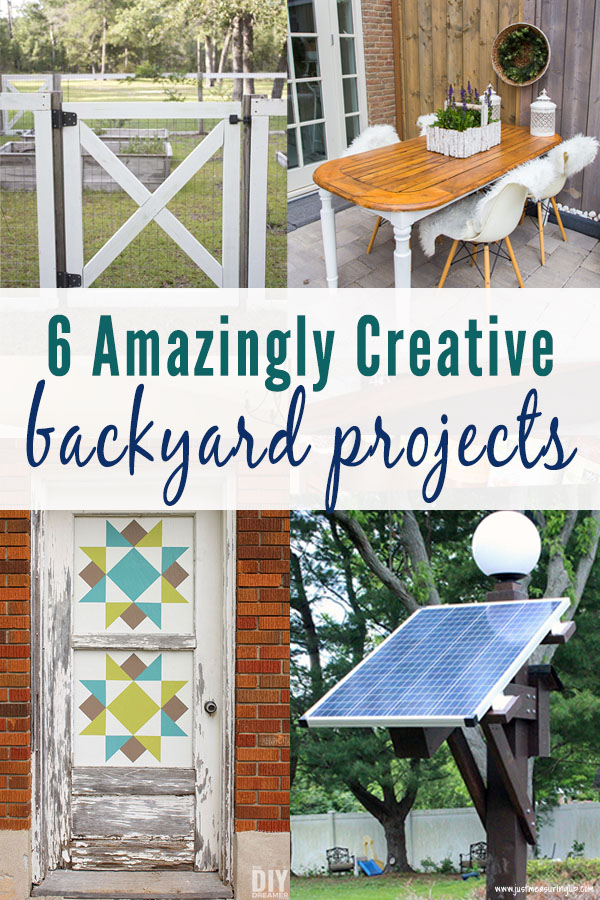Amazingly creative backyard projects for DIYers