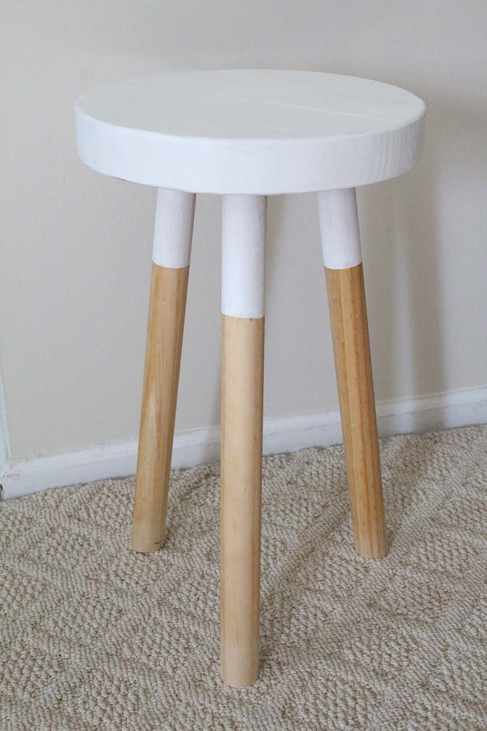 How To Make An Easy Round Stool Simple Diy Furniture Build